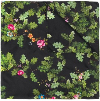 Preen by Thornton Bregazzi Floral Embroidered Neck-Tie Scarf