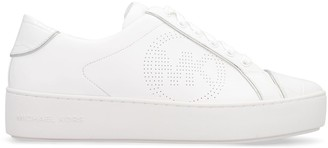 MICHAEL Michael Kors Kirby Leather Sneakers