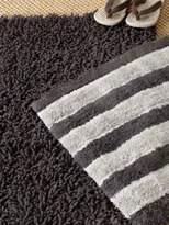 Safavieh Plush Solid & Striped Cotton Bath Rug-Set of 2
