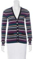 Dolce & Gabbana Virgin Wool Striped Cardigan