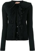 No.21 frill detail cardigan - women - Cotton - 40