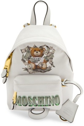 Moschino Mini Dollar Bear Backpack