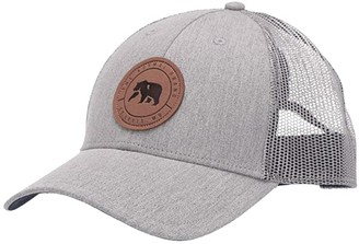 The Normal Brand Leather Patch Trucker (Grey) Caps
