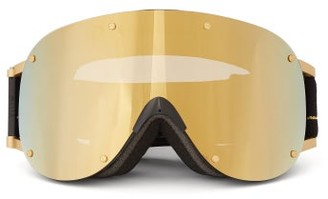 YNIQ Model Four Ski Goggles - Black Gold