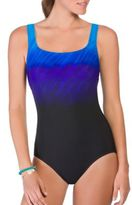 Reebok Scoopneck One-Piece Swimsuit
