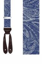 Trafalgar Men's 'Matera' Silk Suspenders