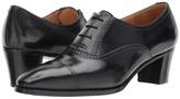 Gravati Mid-Heel Cap Toe Oxford Women's Lace Up Cap Toe Shoes