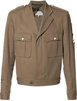 Maison Margiela officer sports jacket - men - Cotton - 52