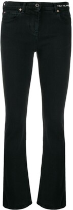Valentino slim-fit poem detail jeans