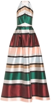 Elie Saab Striped Ball Gown