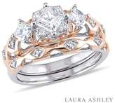 Laura Ashley Princess And Round Diamond Ring.