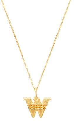 Chloé W-pendant Necklace - Gold
