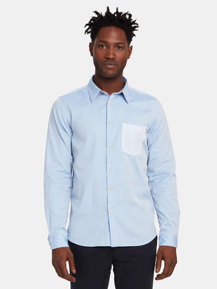 Paul Smith Long Sleeve Tailored Fit Shirt Pocket