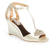 Badgley Mischka Women's 'Nedra' T-Strap Wedge