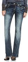 Miss Me Cross-Pocket Bootcut Jeans