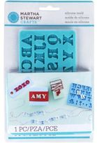 Martha Stewart Crafts Silicon Mold, Alphabet
