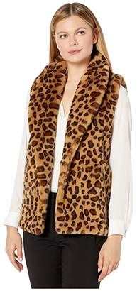 Echo Animal Faux Fur Vest