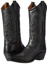 Old West Boots LF1579 (Black) Cowboy Boots