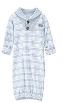Edgehill Collection Baby Boys Newborn-6 Months Shawl Collar Gown