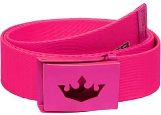 Meister Player Golf Web Belt - Hot Pink
