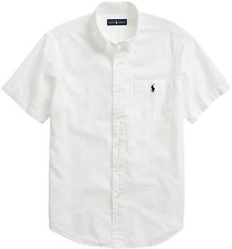 Polo Ralph Lauren Cotton Seersucker Casual Shirt