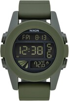 Nixon Unit Digital Silicone Strap Watch, 44mm
