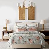 Williams-Sonoma Williams Sonoma Greek Key Floral Printed Bedding