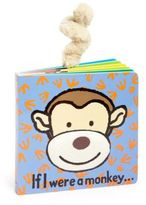 "Jellycat If I Were A Monkey"" Book"