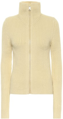 Bottega Veneta Ribbed-knit wool-blend cardigan
