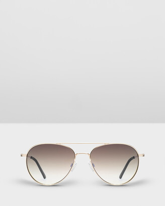 Carolina Lemke Berlin - Women's Gold Aviator - CL1725 SG OPT 02 - Size One Size at The Iconic