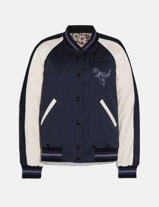 Coach Rexy By Zhu Jingyi Reversible Varsity Jacket