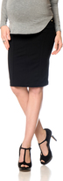 A Pea in the Pod 7 For Mankind Secret Fit Belly Maternity Skirt