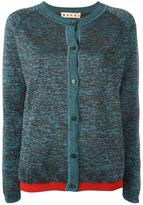 Marni melange cardigan - women - Nylon/Polyester/Viscose/Virgin Wool - 40