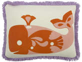 Thomas Paul Amalfi Whale Pillow - Rose