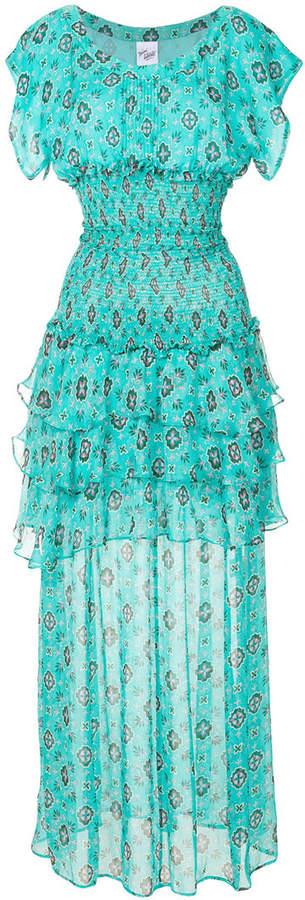 Michel Klein elasticated waist patterned dress