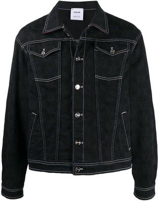 Emilio Pucci Contrast Stitching Denim Jacket