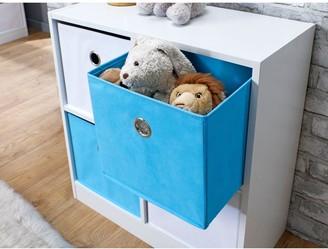 Lloyd Pascal 4 Cube Storage Unit Blue/White