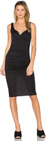 Twenty Superior Midi Dress in Black. - size S (also in XS)