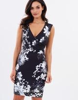 Lipsy Monochrome Body-Con Dress