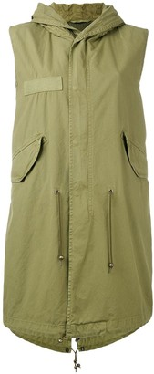 Mr & Mrs Italy Sleeveless Parka Coat