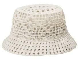 Peter Grimm Penelope Toyo Straw Bucket Hat