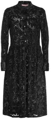 Rose' A Pois Knee-length dress