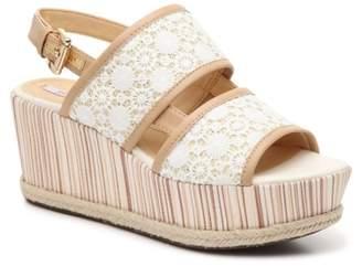 Geox Sakely 3 Espadrille Wedge Sandal