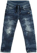 Hydrogen Kid Camouflage Printed Stretch Denim Jeans