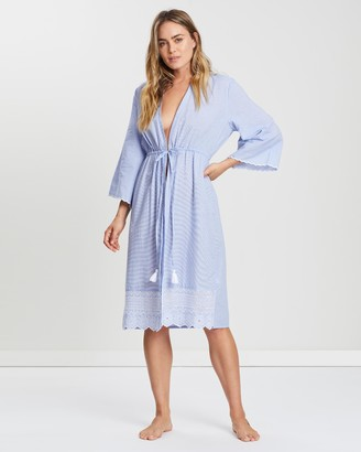 Marks and Spencer Broderie Trim Dressing Gown