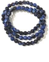 Charlene K Lapis Gemstone Bracelet - Set of 3