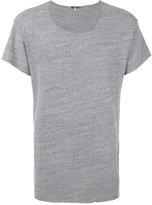 R 13 raw edge T-shirt