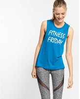Express one eleven fitness friday muscle tank