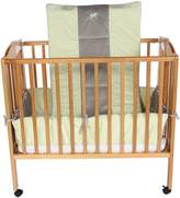 Baby Doll Bedding Cozy Carousel Minky with Embroidery Port-a-Crib Bedding Set
