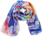 Echo Cambon Floral Oversized Square Scarf